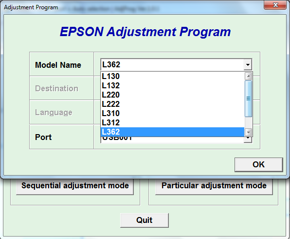 Adjustment program Epson L-130, L-1...